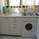 Kitchen.  Washer added 2013