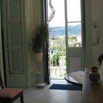 Doorway to the terrace
