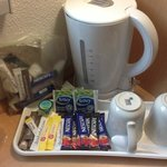 Tea and Milk (Courtesy of the Hotel)