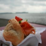 Great salmon sandwich