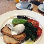 На завтрак сервируют только органик