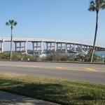 Intercoastal causeway bridge.