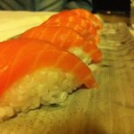 Nigiri al salmone