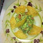 Fresh Guacamole Plate