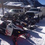 Snowmobile Paradies