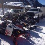 Snowmobile Paradies