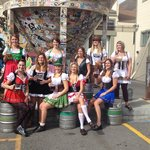 The gals dressed for Oktoberfest!