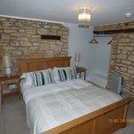 Bedroom of garden suite