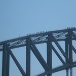 Climbers on Sydney Harbour Bridge