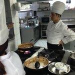 Aula de culinária Turca fornecida pelo hotel