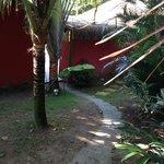 Entrada dos Bangalos Mini Spa