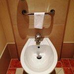 トイレにはビデがありました