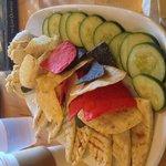 Delicious, fresh Hummus Plate