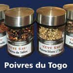 Poivres du Togo....