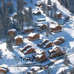 Aerial pic of chalet
