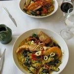 Paella at Le Lieutades, Gentilly
