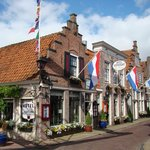 Town of Edam, home of Edam cheese