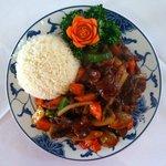 Spicy Beef & Vegetables