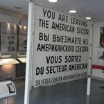 American Zone sign