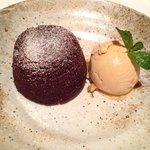 Chocolate dessert yum!