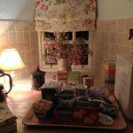 Kitchen and all the goodies. Yum!