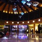 vista de entrada al hotel
