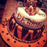 Tigger celebration cake ��