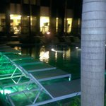Adult pool at night - there is another pool that is 24 hours