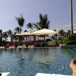 View from top infinity pool