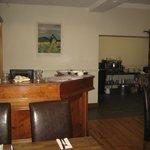 Restaurant desk