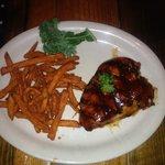 Mesquite BBQ Chicken w/Sweet Potato Fries