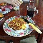 banana pancake breakfast style