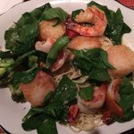 I got the scallop and shrimp scampi last night it was so good still thinking about it today!