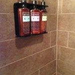 Communal amenities in shower