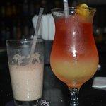 Best drinks in the Sun Bar!