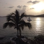 View from hotel Charlotte Amalie bay