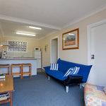 Unit 2 lounge and kitchen