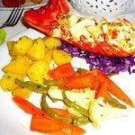 Lobster in lime butter - mmmm