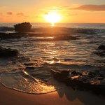 Sunrise in Oahu