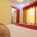 Sleeping area at Suite Room @ Aishwarya Residency