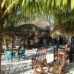 View inward from the beach of Playa Palancar
