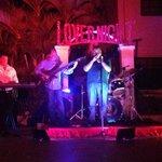 Jazz band on lover night