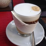 Amazing latte coffee