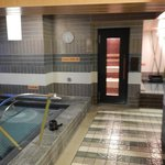 Indoor pool and Sauna