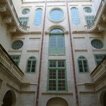 Architectural detail of the National Museum of Fine Arts - Malta