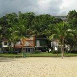 Condomínio na praia do hotel