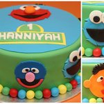 sesame street | birthdays | original cupcakes