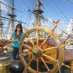 Guiding the ship….