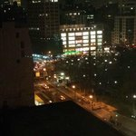 View overlooking Union Square at night