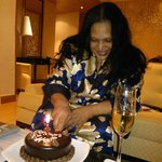 celebrating Didi's 60th at the Presidential Suite